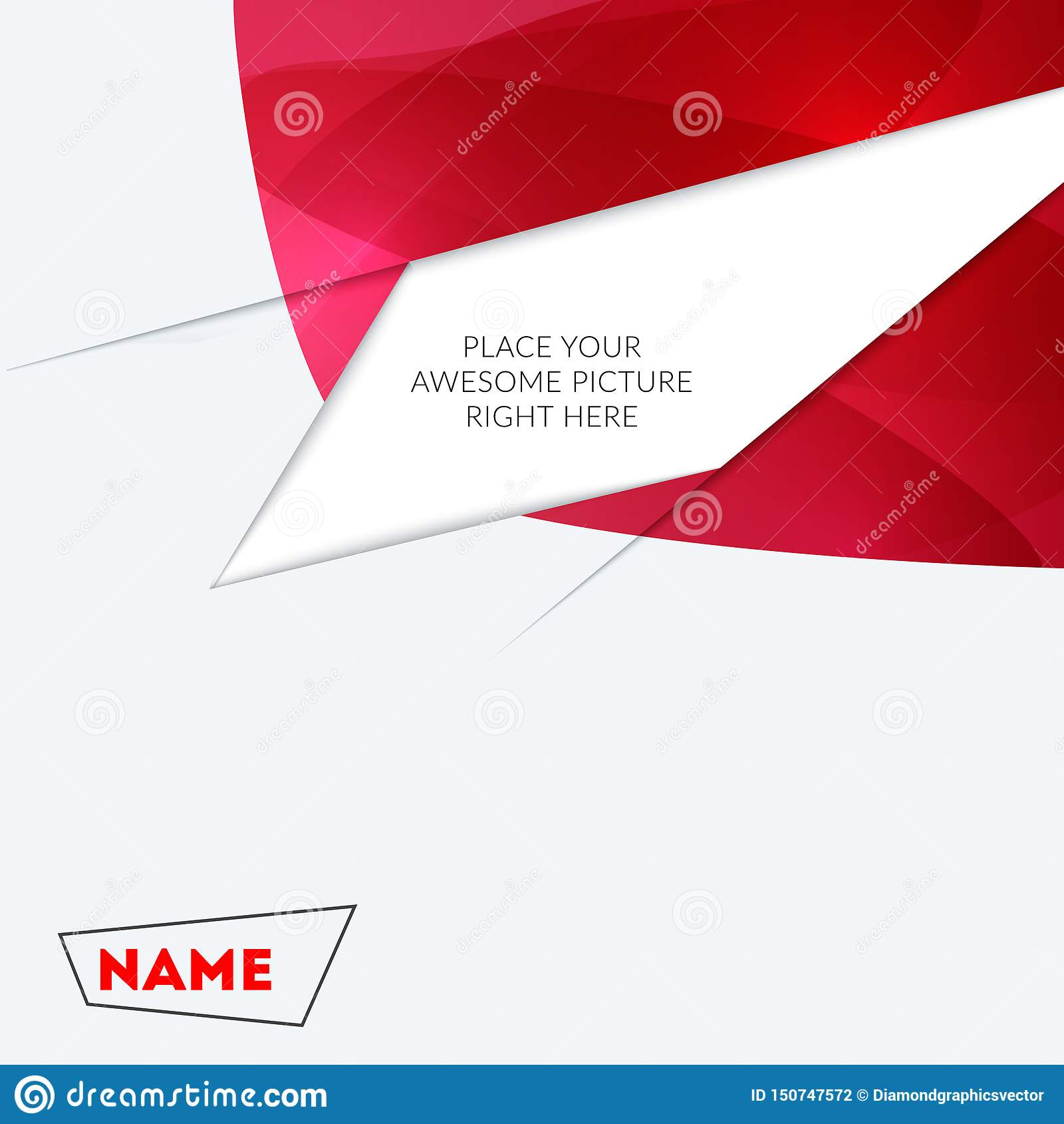 Abstract design of colourful vector elements for modern background with shapes for business branding print.
