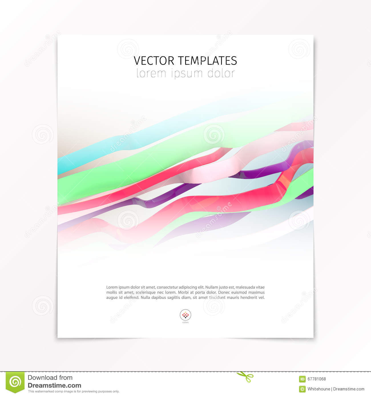 abstract design cover page template stock vector image 67781068 abstract design cover page template
