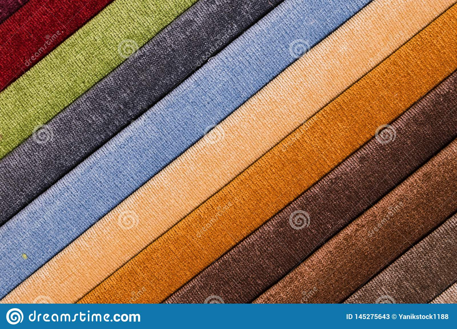 Abstract Diagonal Textile Background Multicolored Stripes ...