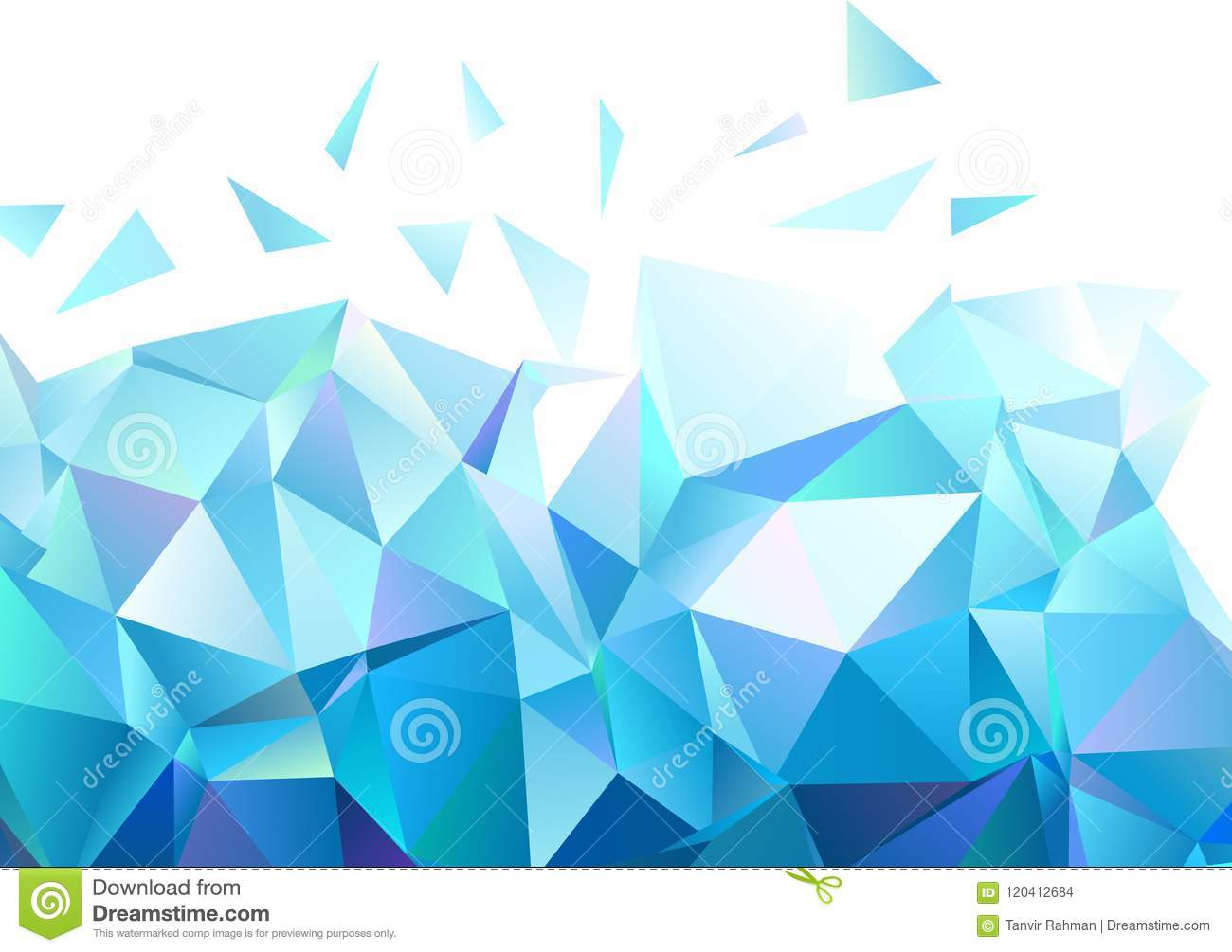 Abstract Geometric Shape Background Stock Vector