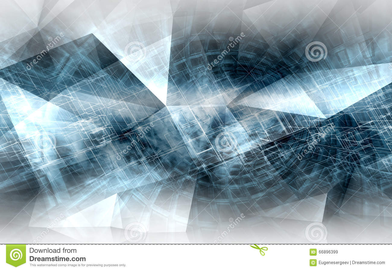 Abstract digital background, high-tech cg concept