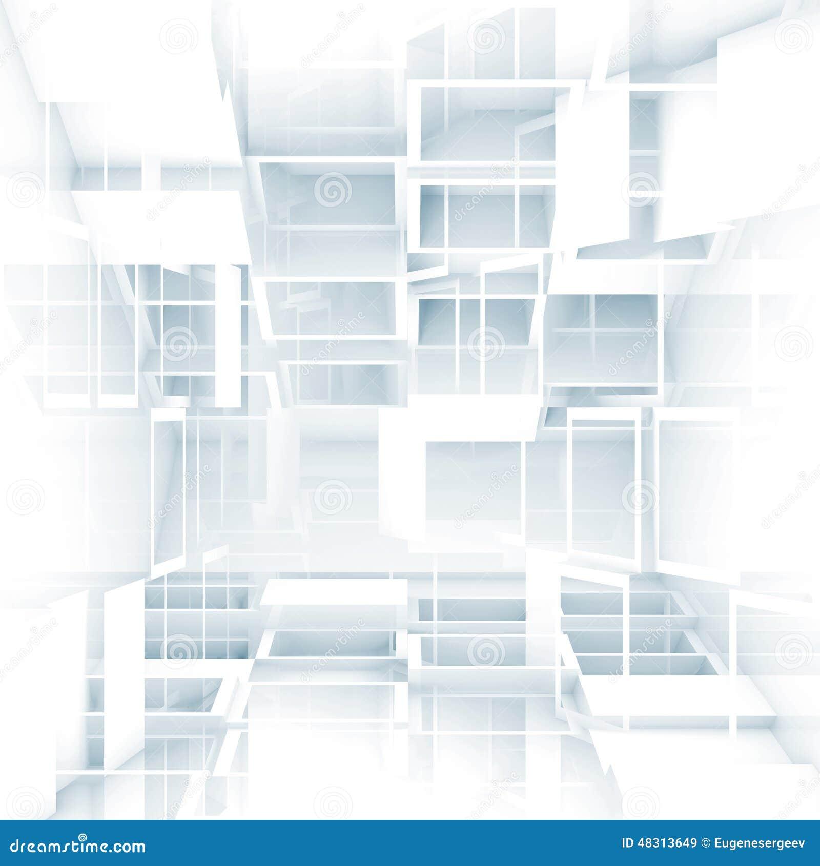 White Digital Background Designs Abstract Digital 3d Ba...