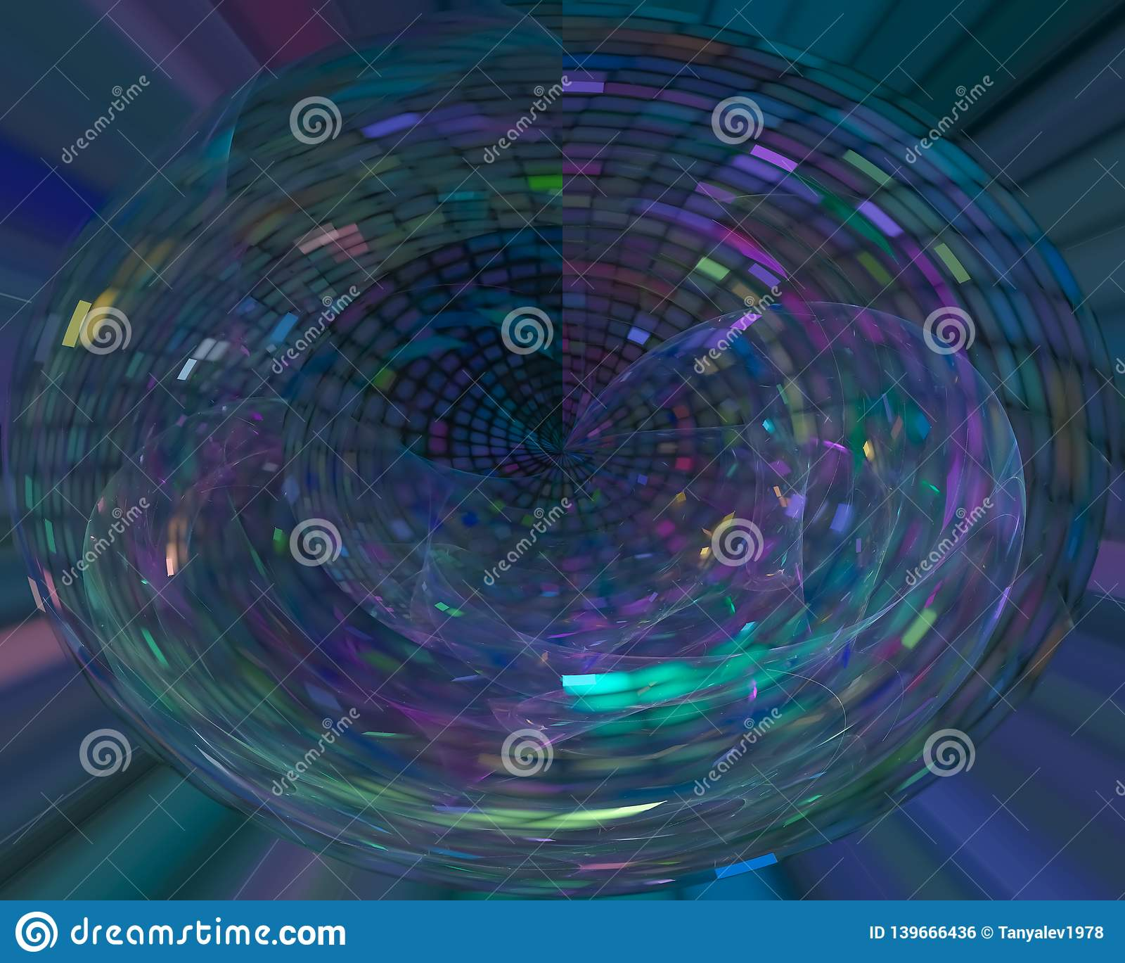 Abstract science dynamic fantasy design energy template curve fractal, texture beautiful design shiny, flare shape , decoration