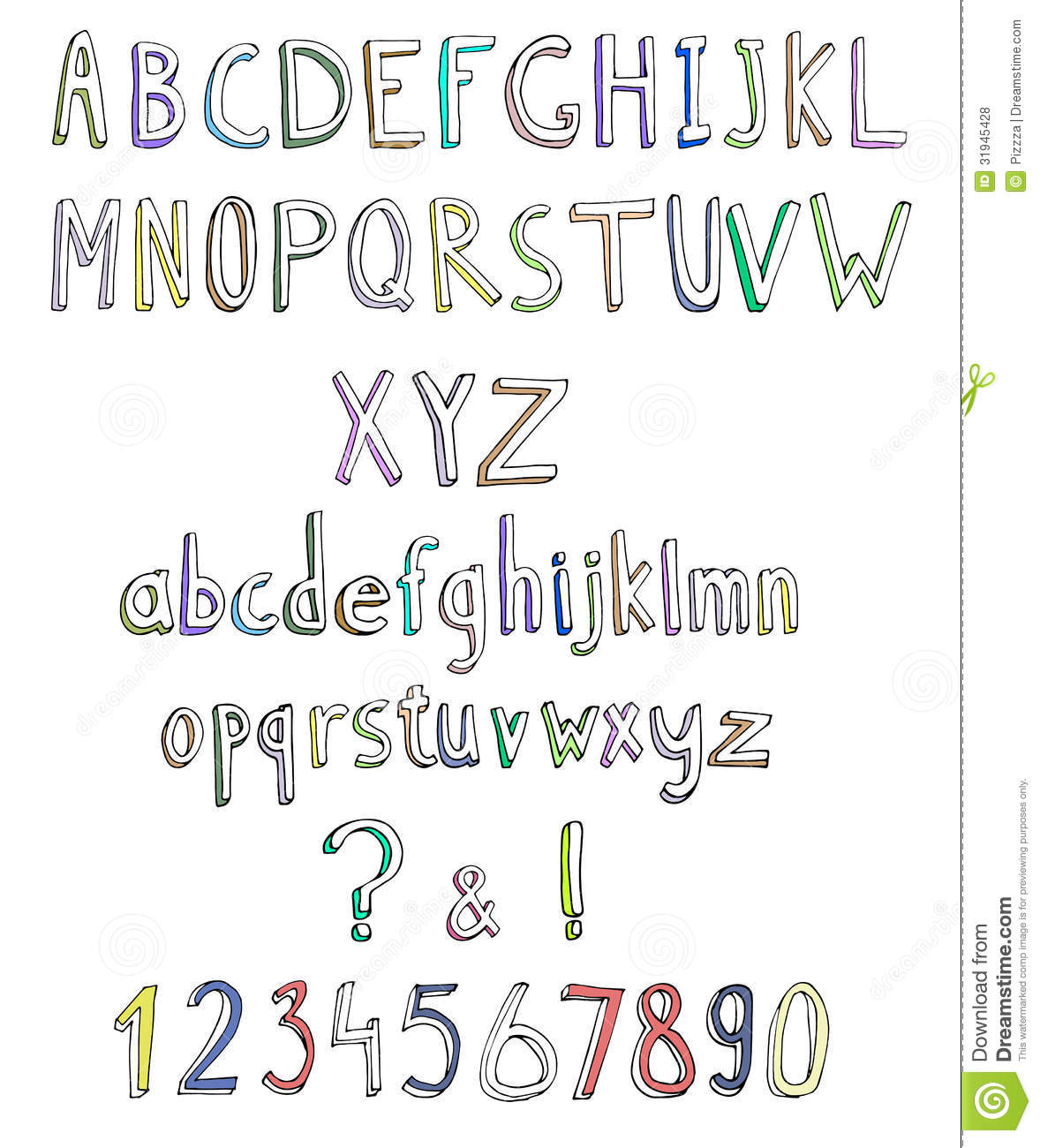 Cute Letter Fonts Best  Cute Fonts Alphabet Ideas On