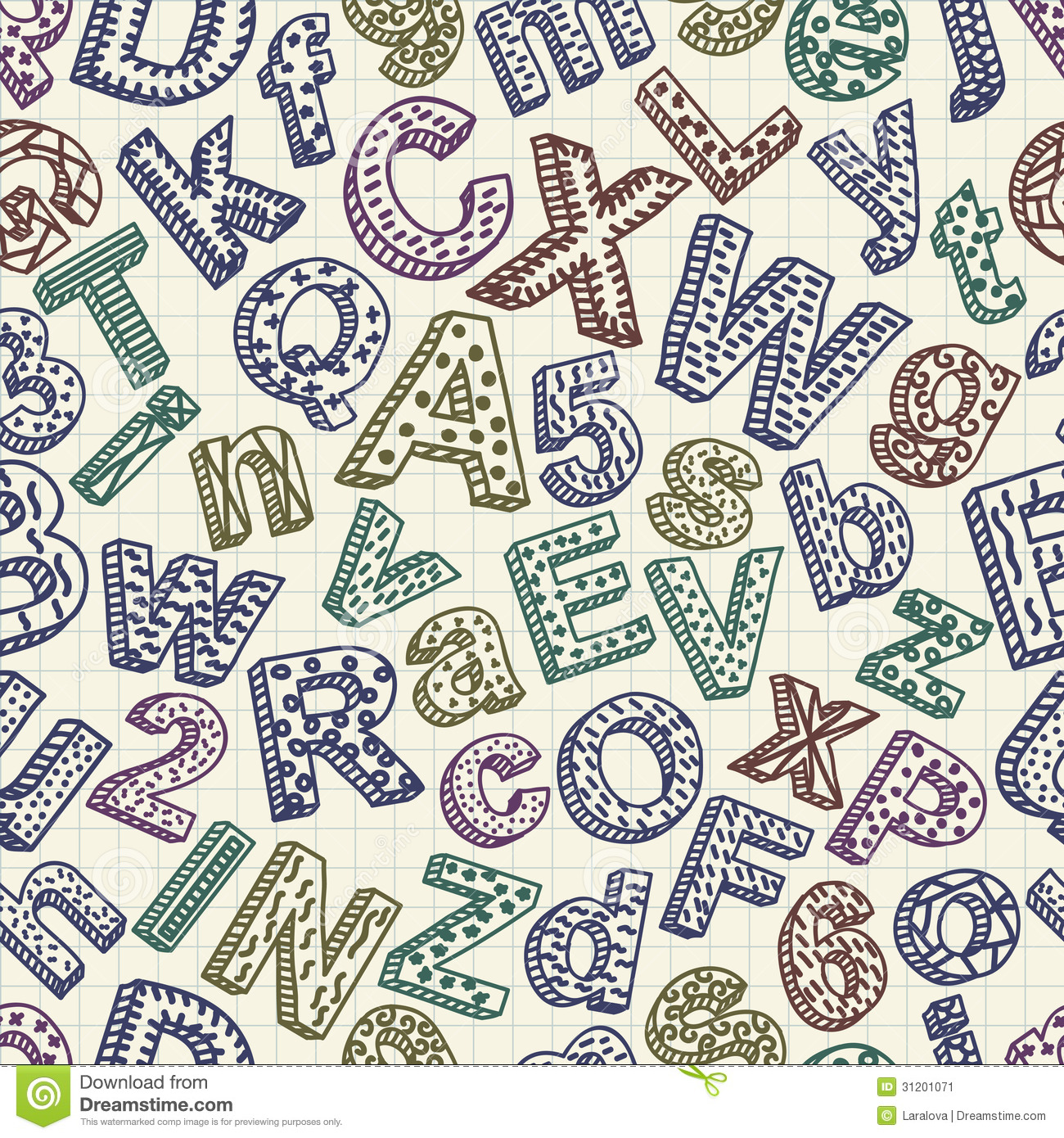 Pattern Font Interesting Inspiration Ideas