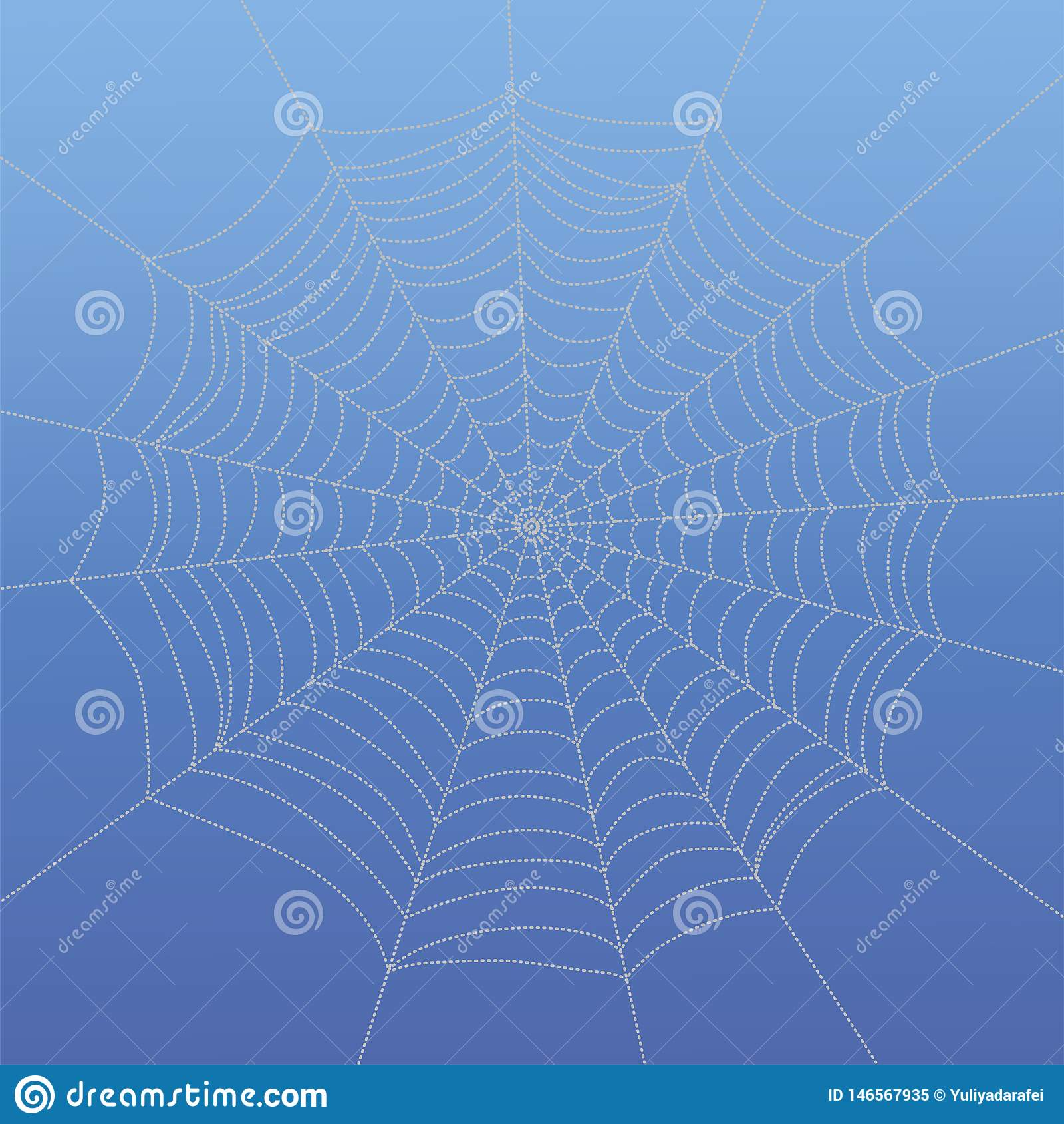 Abstract drawing spiderweb