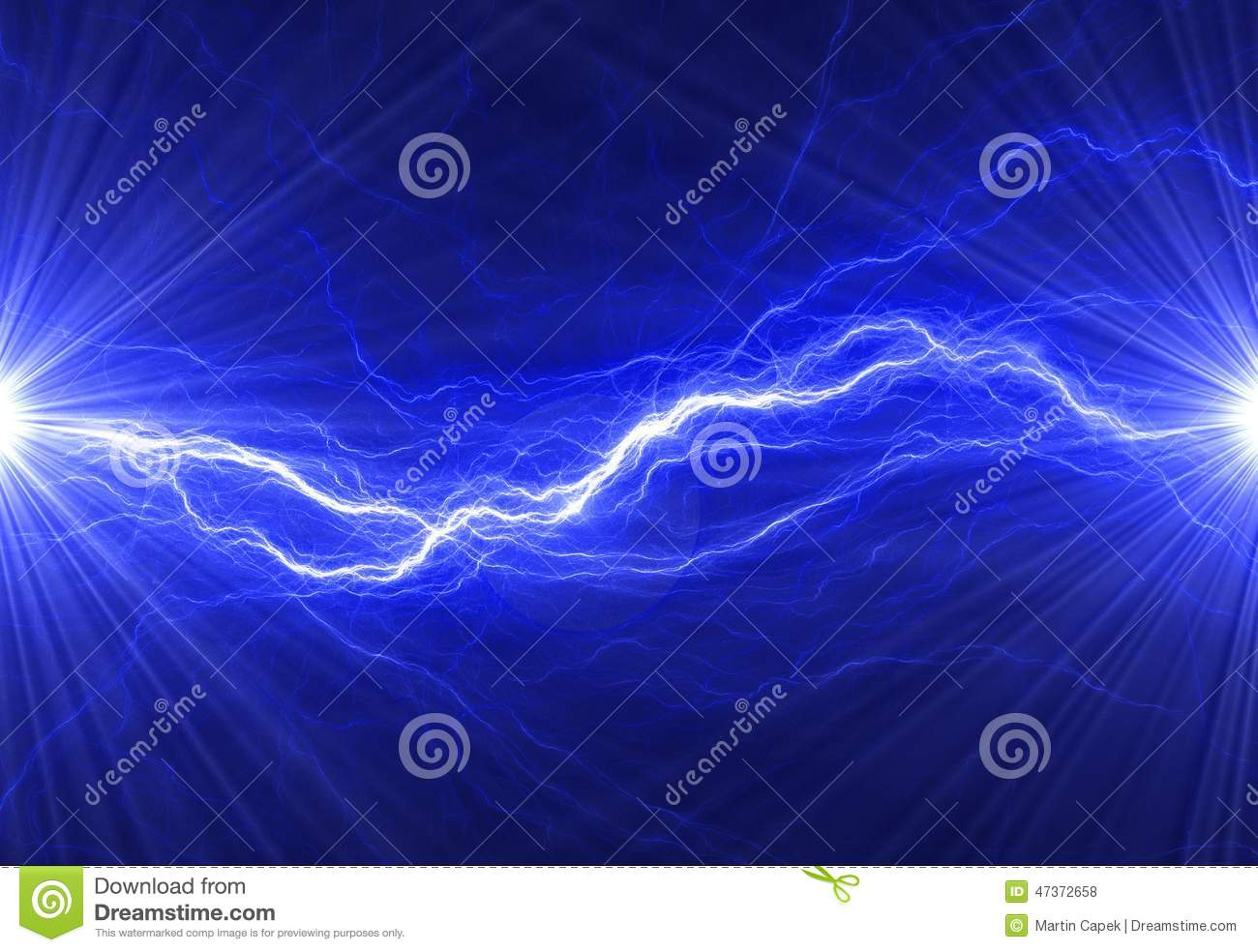 abstract blue electricity - photo #7