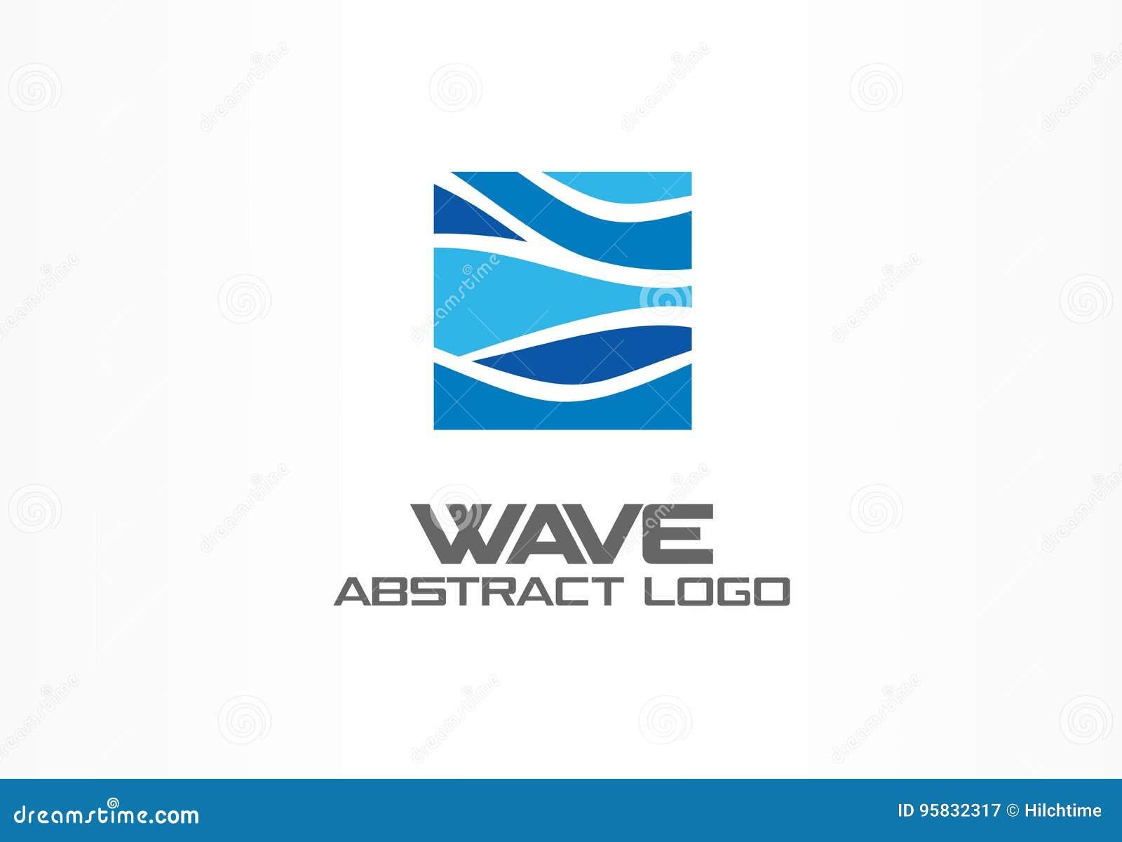 Abstract embleem voor bedrijf Aard, oceaan, eco, wetenschap, het idee van gezondheidszorglogotype Ecologie, blauw, overzees, wate