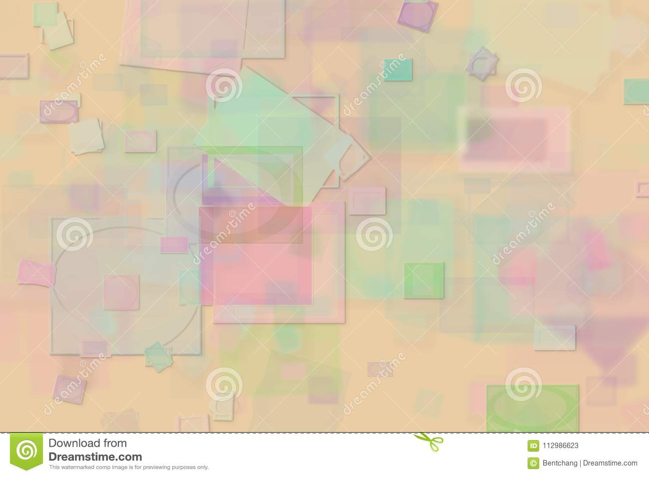 Abstract shape illustrations background. Pattern, generative, floor, creative & rectangle.