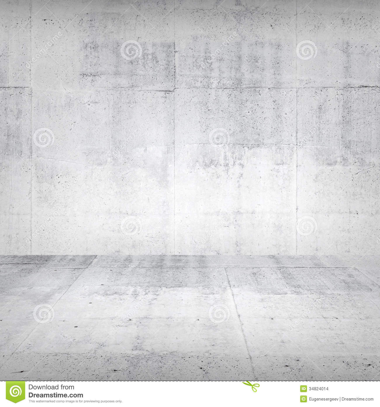 White Concrete Wall : Abstract empty white concrete interior stock images