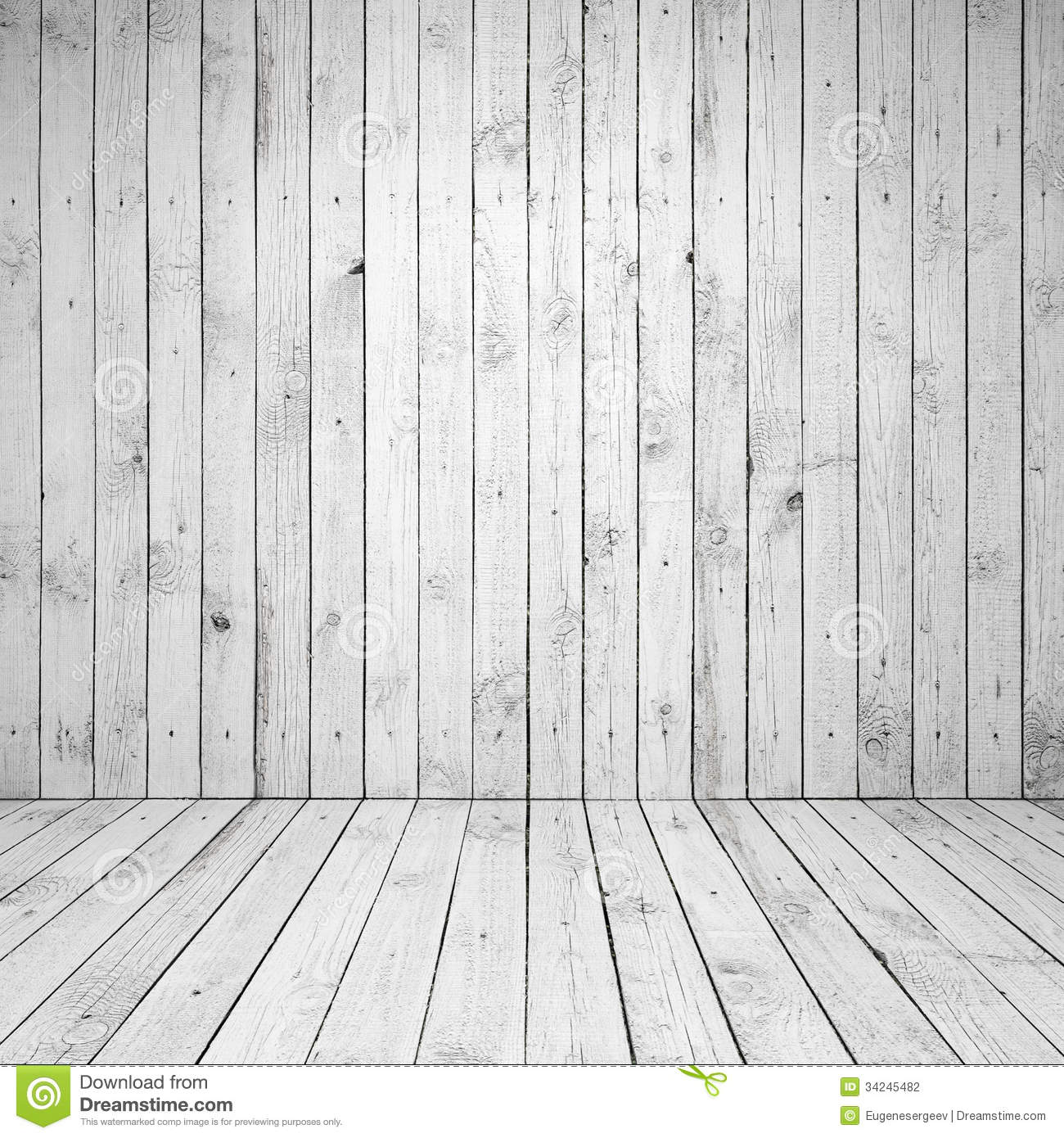 Abstract Empty White Room Interior Stock Photo Image