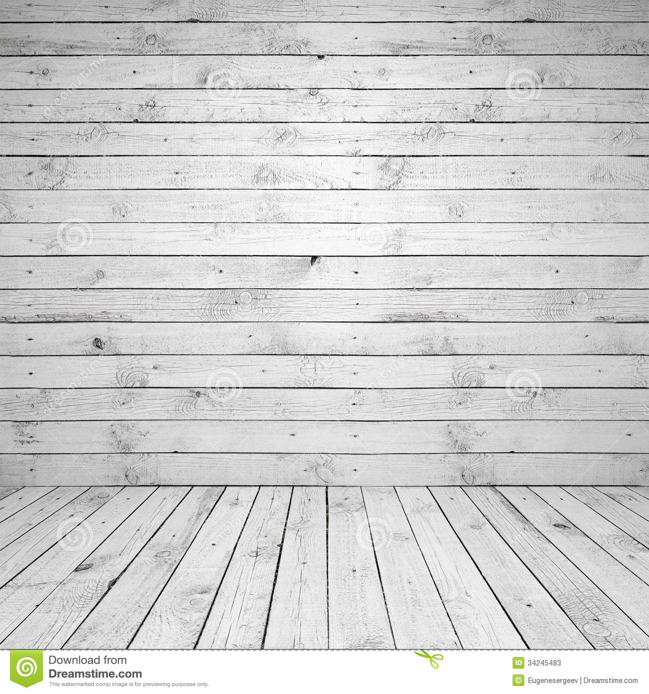 Download Abstract Empty White Wooden Room Interior Stock Image   Image Of  Hardwood, Gray: