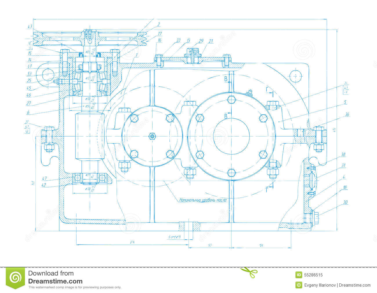 Abstract engineering drawing vector background stock vector abstract engineering drawing vector background malvernweather Gallery