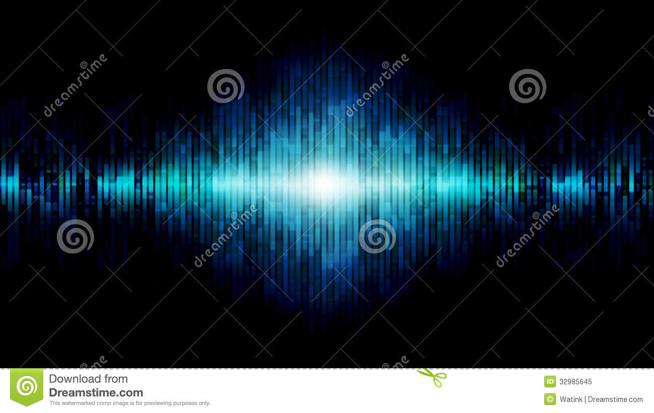 Abstract Equalizer Background Blue Royalty Free Stock Photo - Image: 32985645