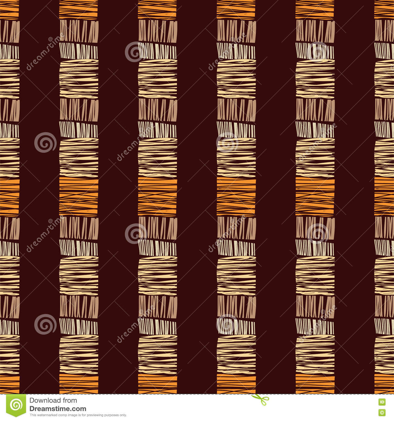 Abstract ethnic pattern seamless