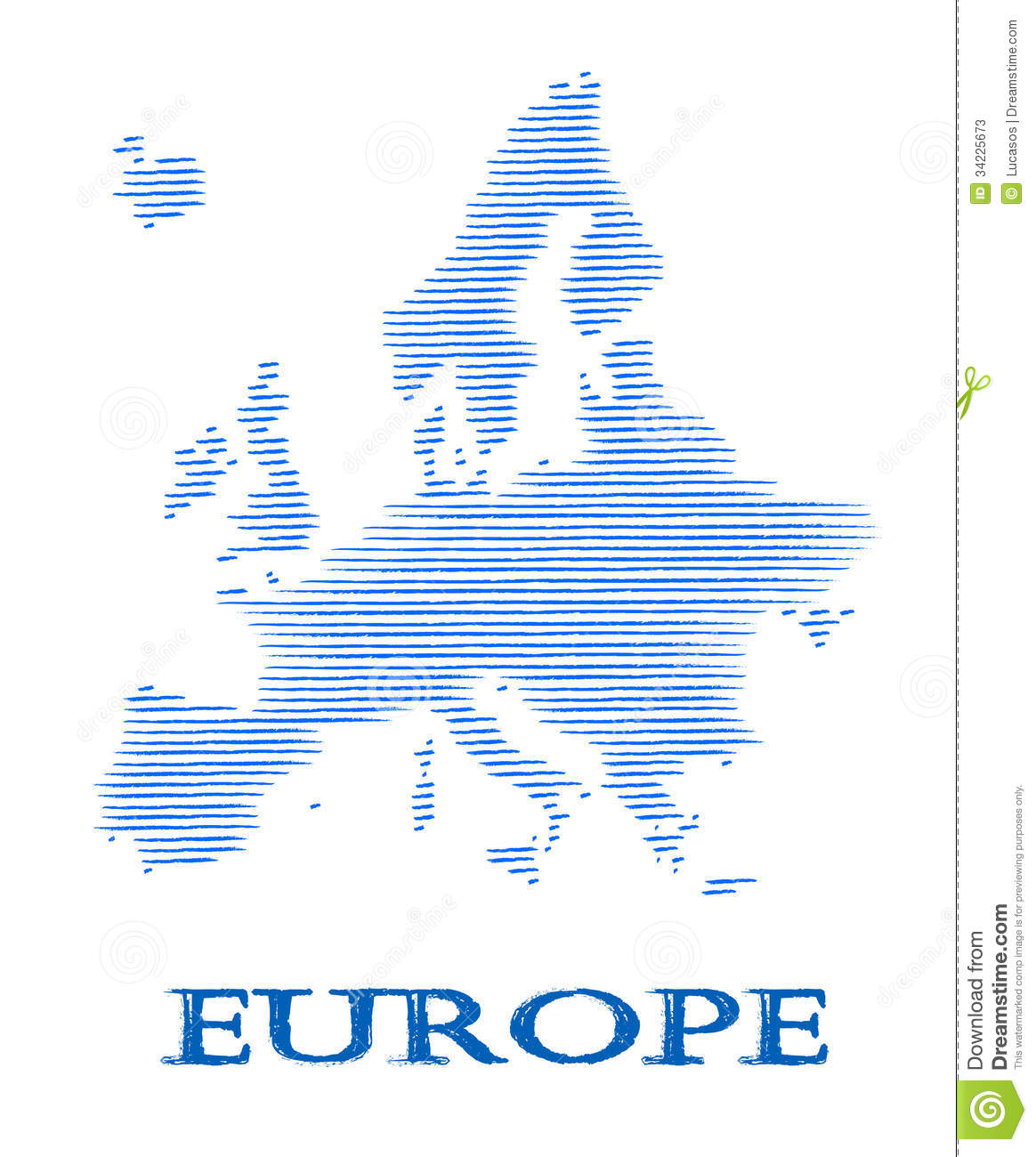 vector illustration of europe - photo #29