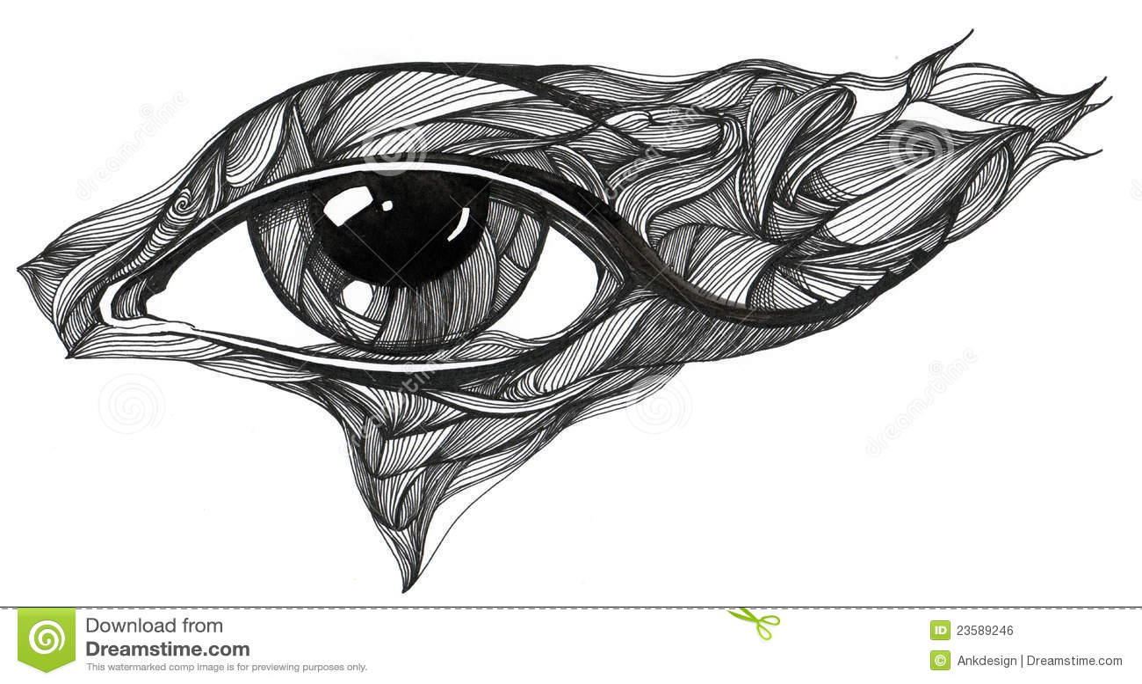 Abstract Eye Stock Illustration Illustration Of Eyesight