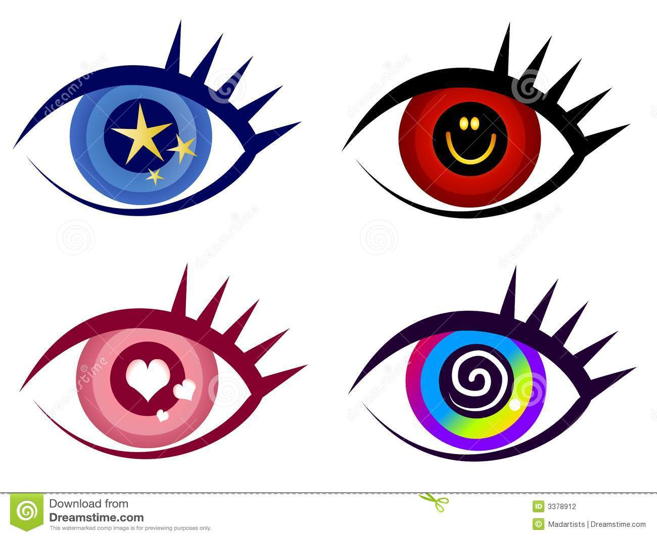 abstract eye clip art icons stock illustration illustration of rh dreamstime com abstract clipart free abstract clipart background
