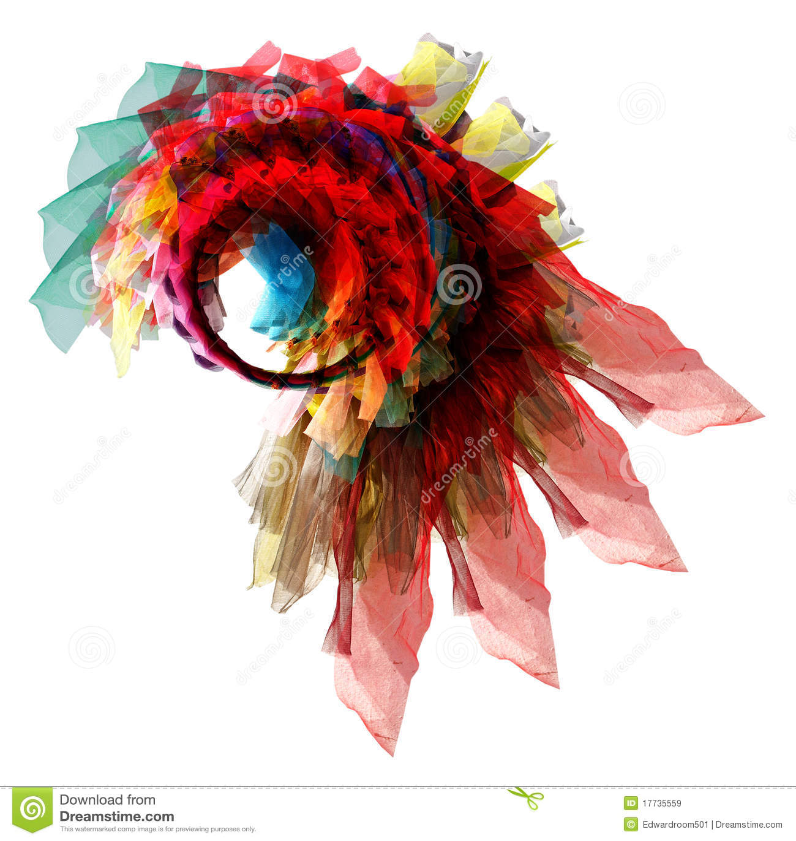 Abstract eye twist