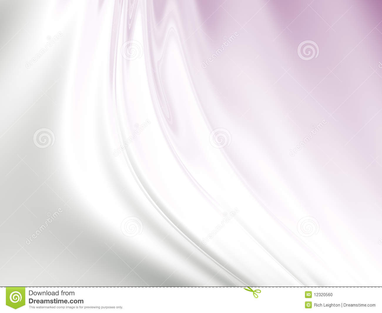 Abstract Fabric Background In Silver And Pink Stock