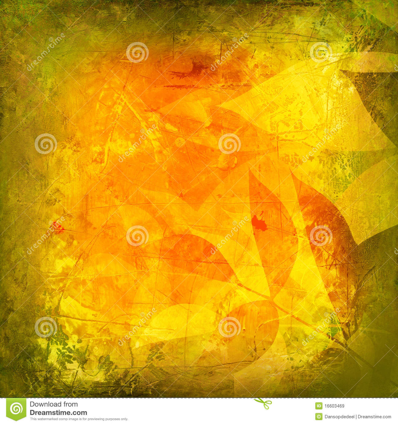 Abstract Fall Background Stock Illustration. Image Of