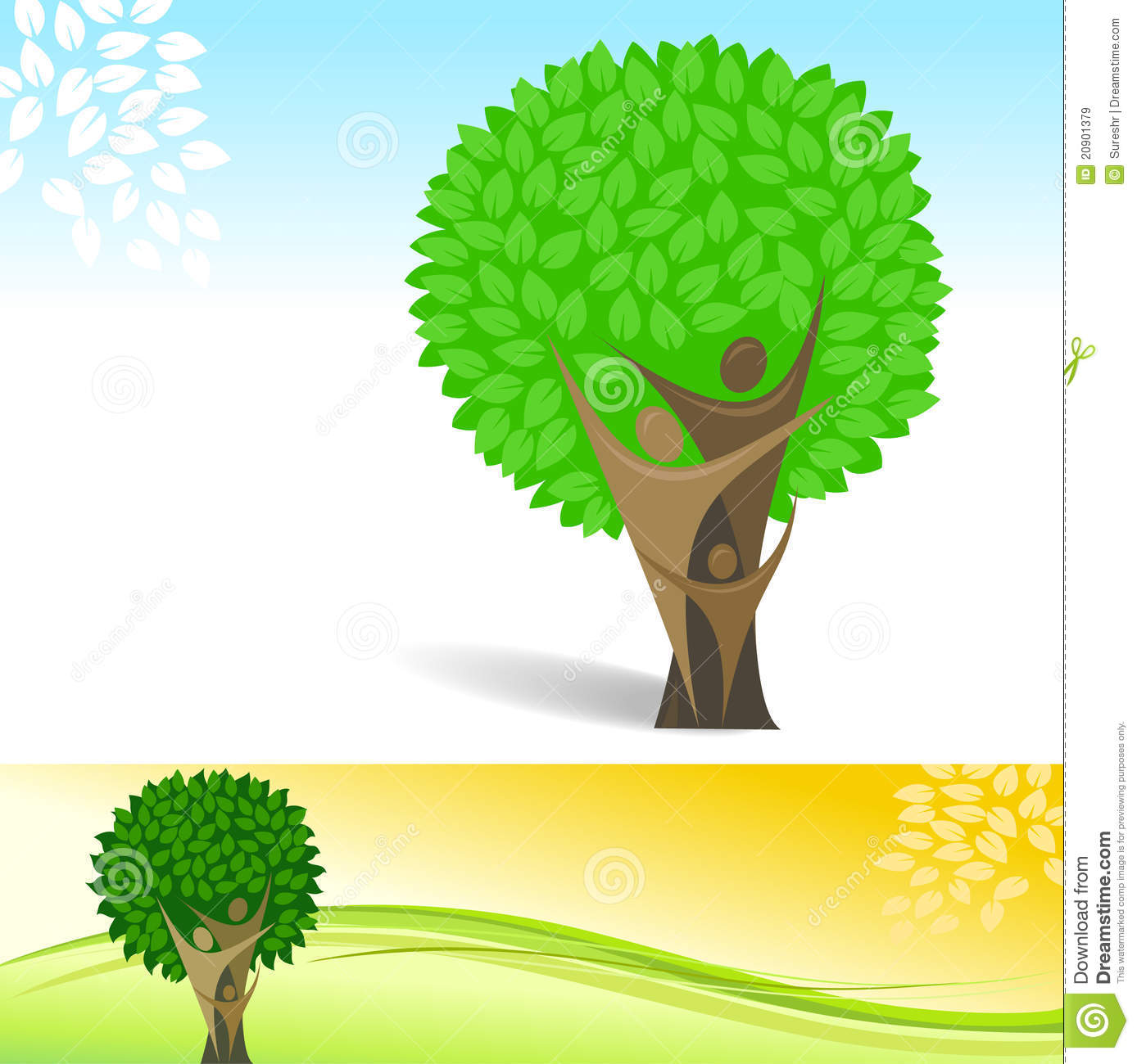 Abstract family tree vector background royalty free stock - Family tree desktop wallpaper ...