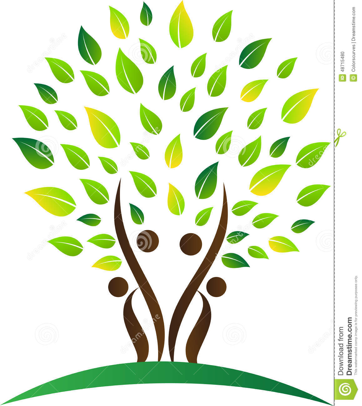 Stock Illustration Abstract Family Tree Vector Drawing Represents Design Image48715480 on arbol genealogico