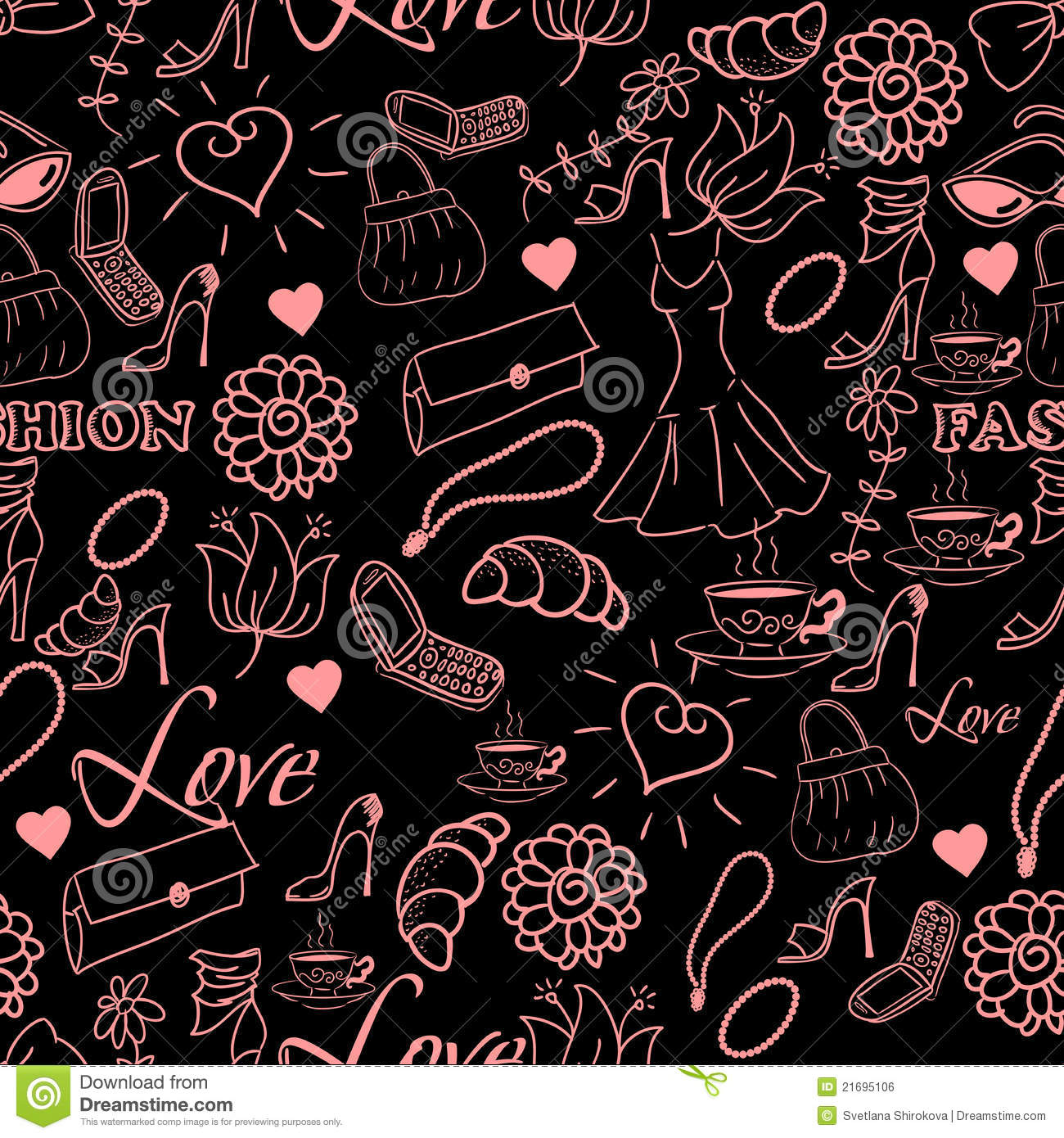Abstract Fashion Background Royalty Free Stock Image