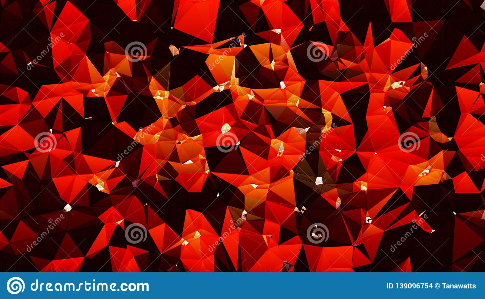 Abstract Fire Orange Red White Black Color Wallpaper Stock