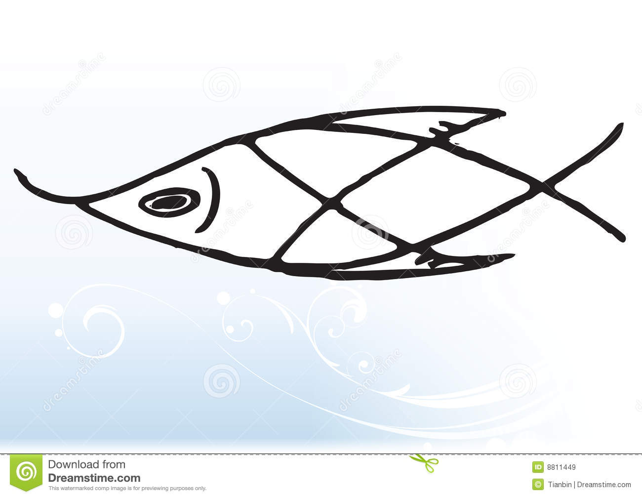 abstract fish royalty free stock images image 8811449