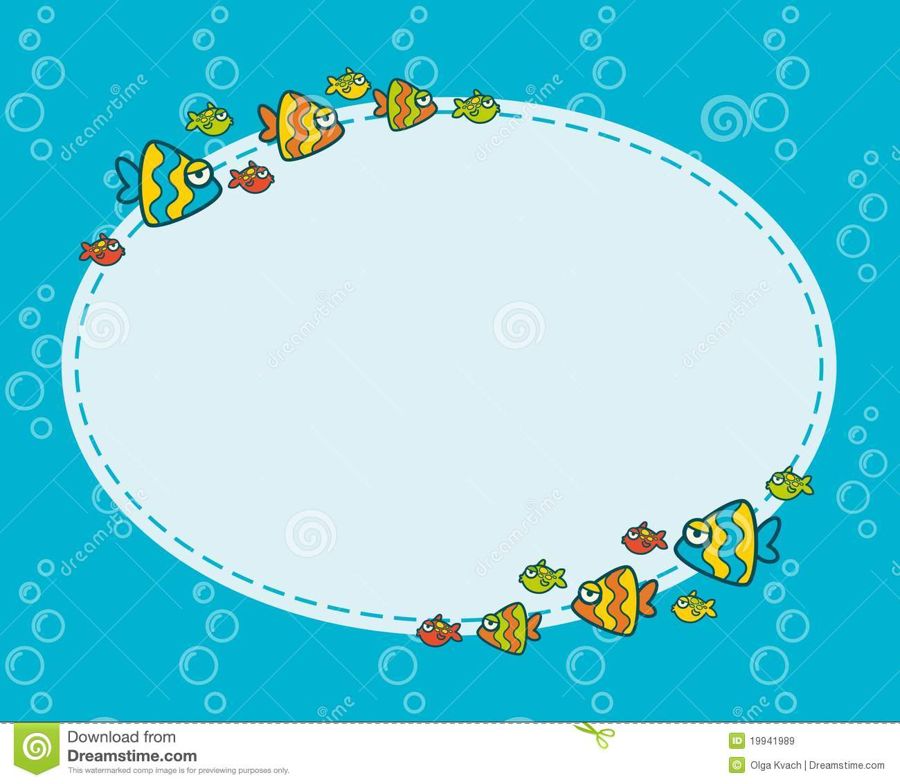Abstract fish background stock vector illustration of for Fishing times free