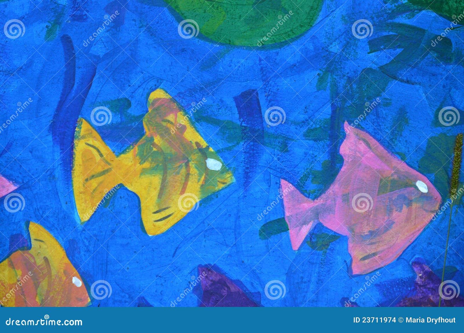 Abstract fish designs - photo#3