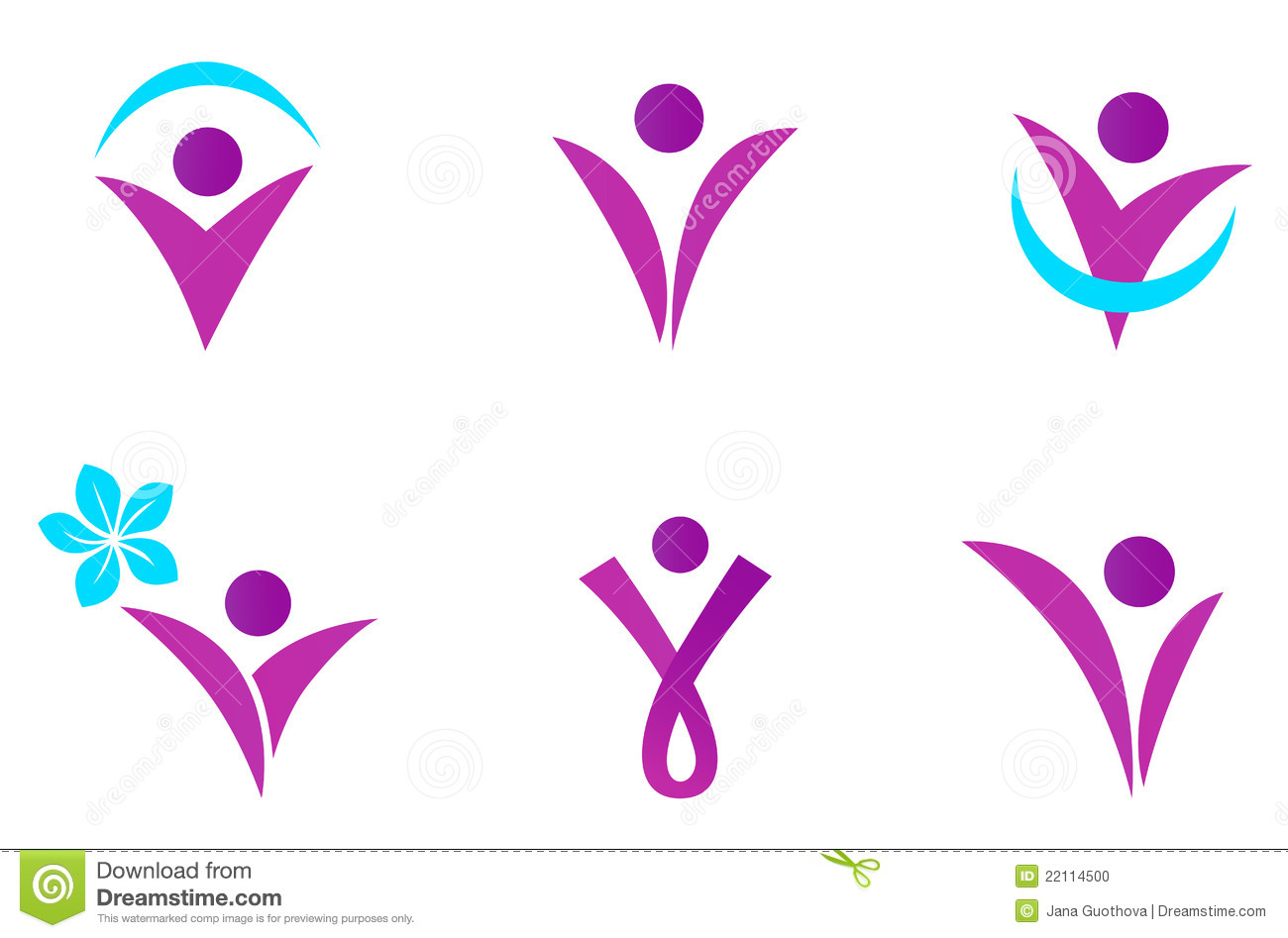 abstract fit woman icon stock vector image of abstract