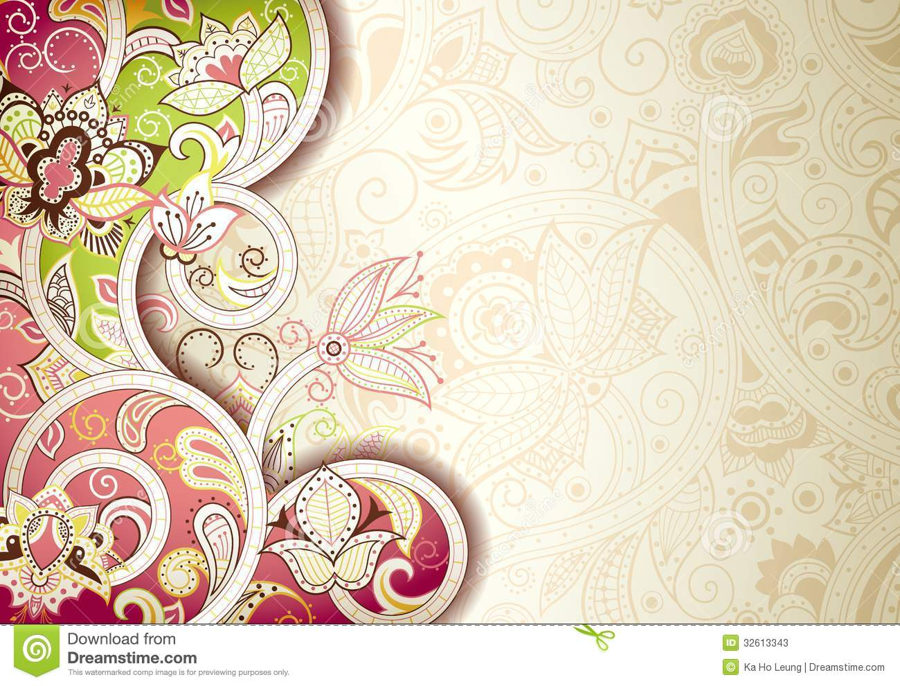 abstract floral background design style - Floral Backgrounds