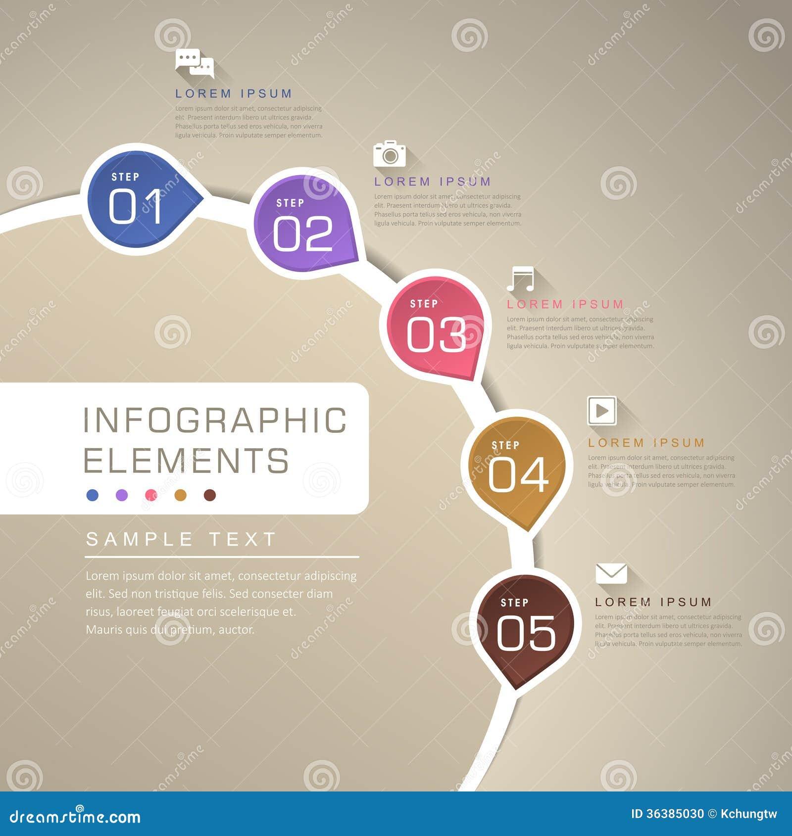 Abstract flow chart infographics stock vector illustration of abstract flow chart infographics label flat geenschuldenfo Gallery