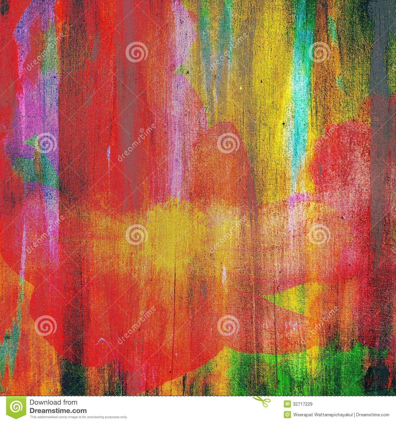 Abstract flower royalty free stock images image 32717229 for Texture painting ideas canvas