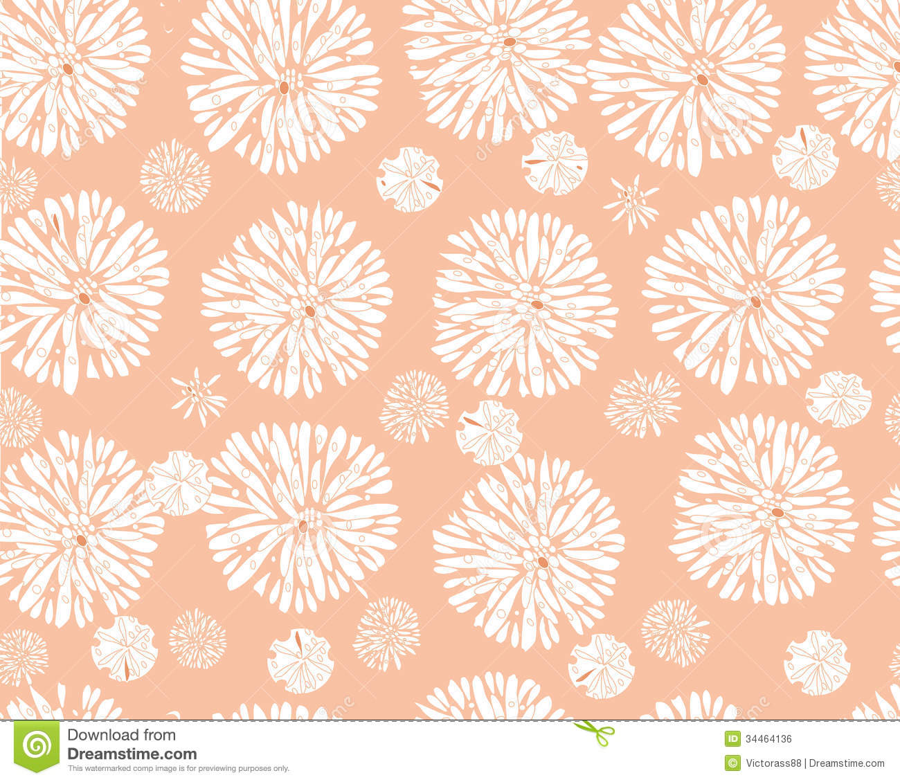 Free abstract floral pattern attentively would