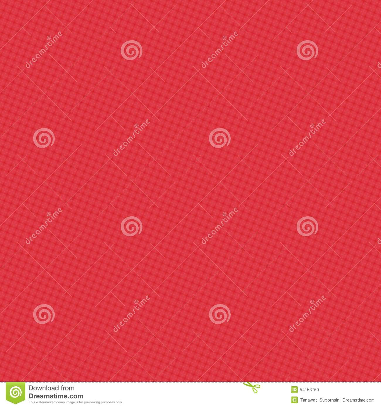 Abstract Flower Red And White Color Wallpaper