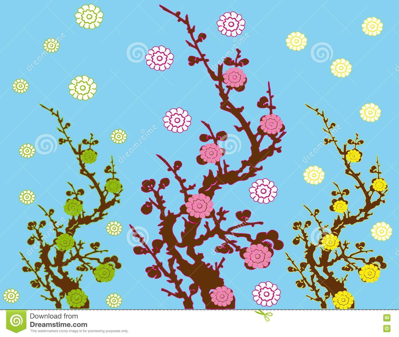 Spring Illustration - Viewing Gallery