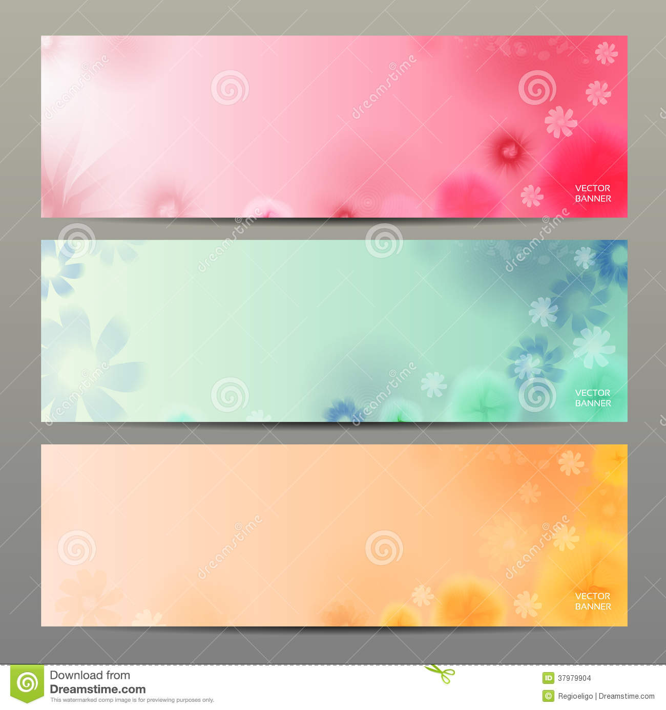 abstract flower vector background brochure template banner stock vector illustration 37979904. Black Bedroom Furniture Sets. Home Design Ideas