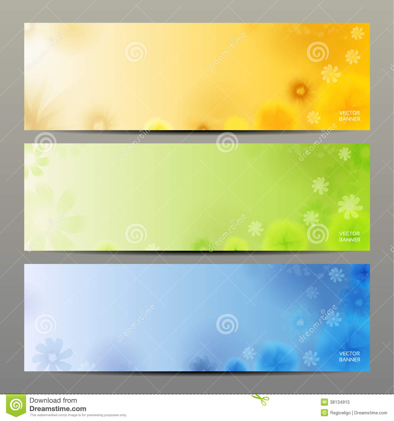 abstract flower vector background brochure template banner