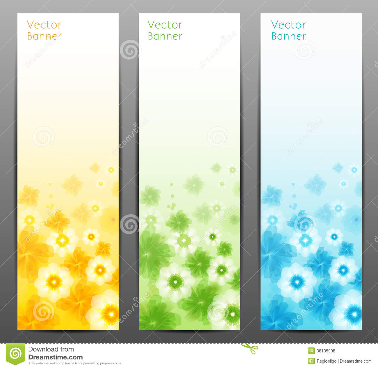 Abstract flower vector background brochure template for Background for brochure design