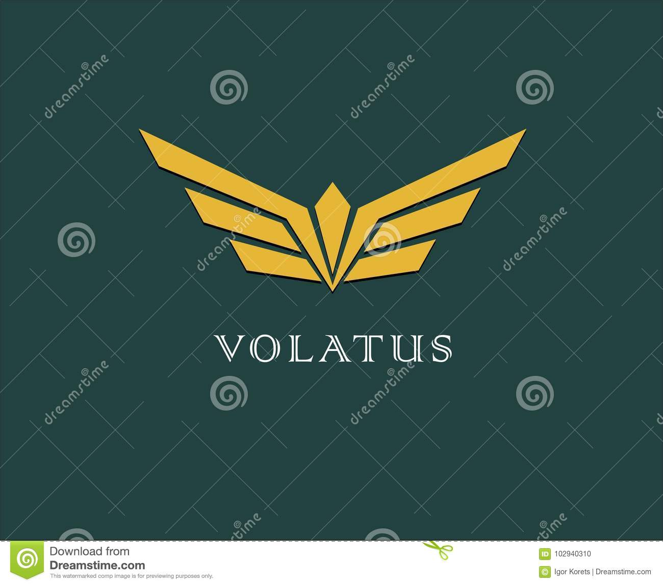 Abstract flower, wings vector logo . Delivery, business, cargo, success, money, deal, contract, team, cooperation symbol