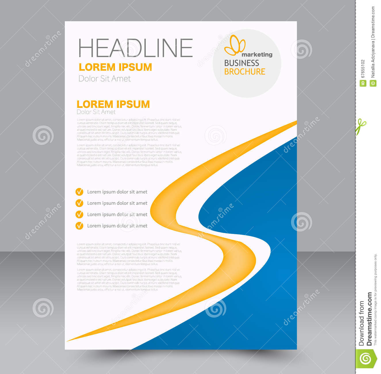brochure background templates - abstract flyer design background brochure template stock