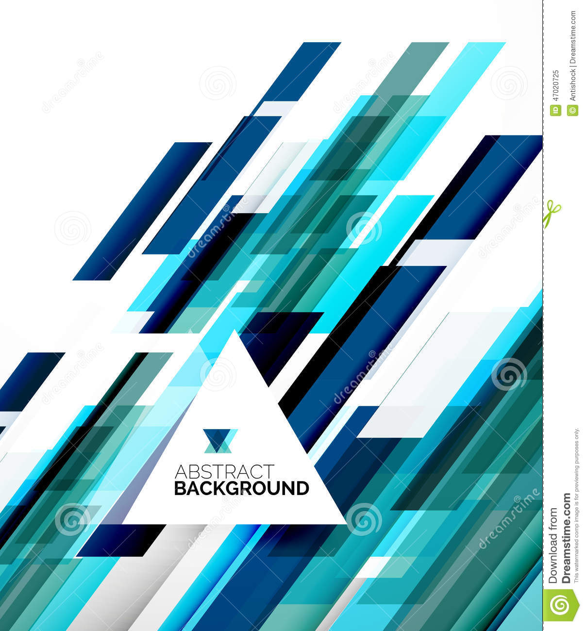 abstract flyer template design background stock vector