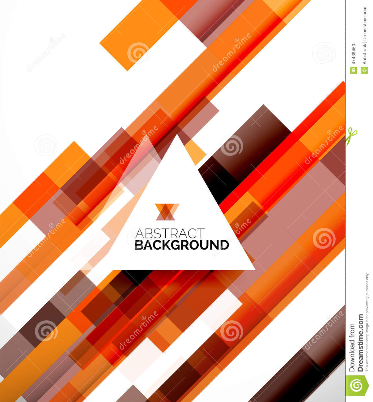 Abstract Flyer Template Design Background Stock Vector - Image ...