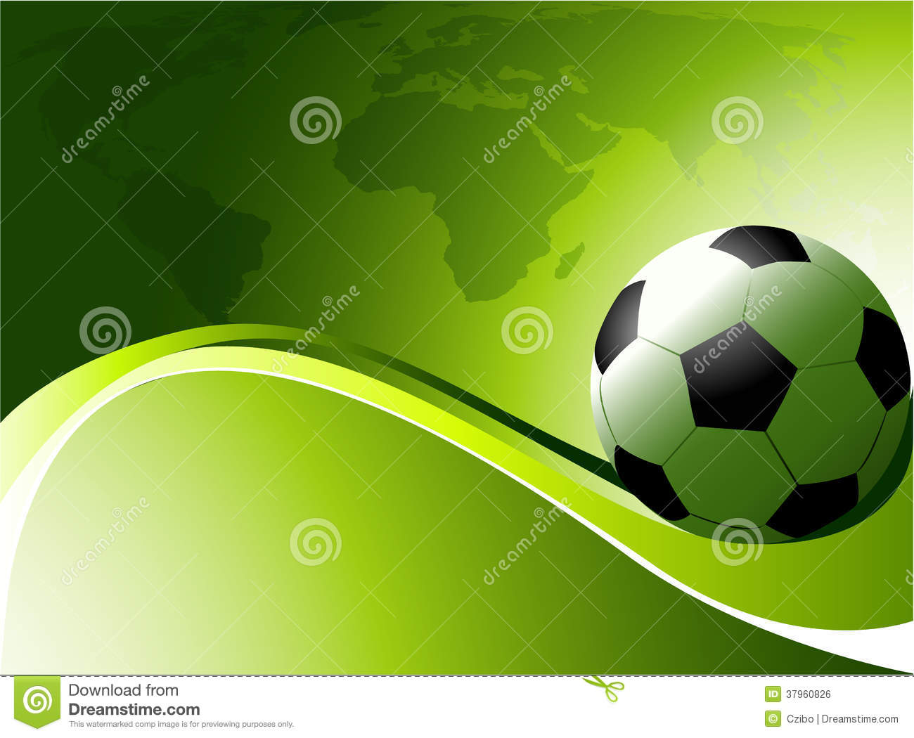 Abstract Sports Background Royalty Free Stock Image: Abstract Football Background Royalty Free Stock Image