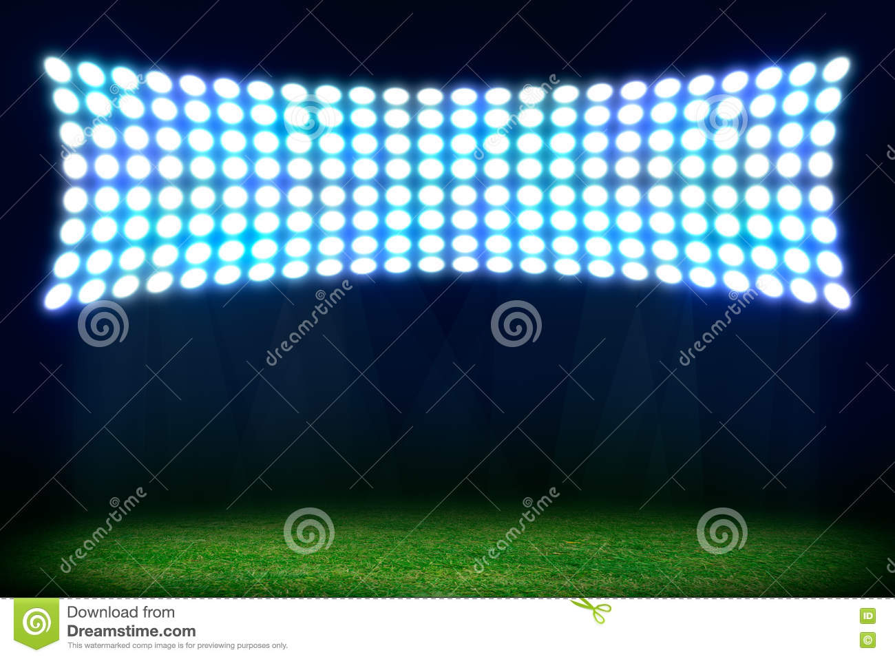 On The Stadium Abstract Football Or Soccer Backgrounds: Abstract Football Or Soccer Background Stock Photo