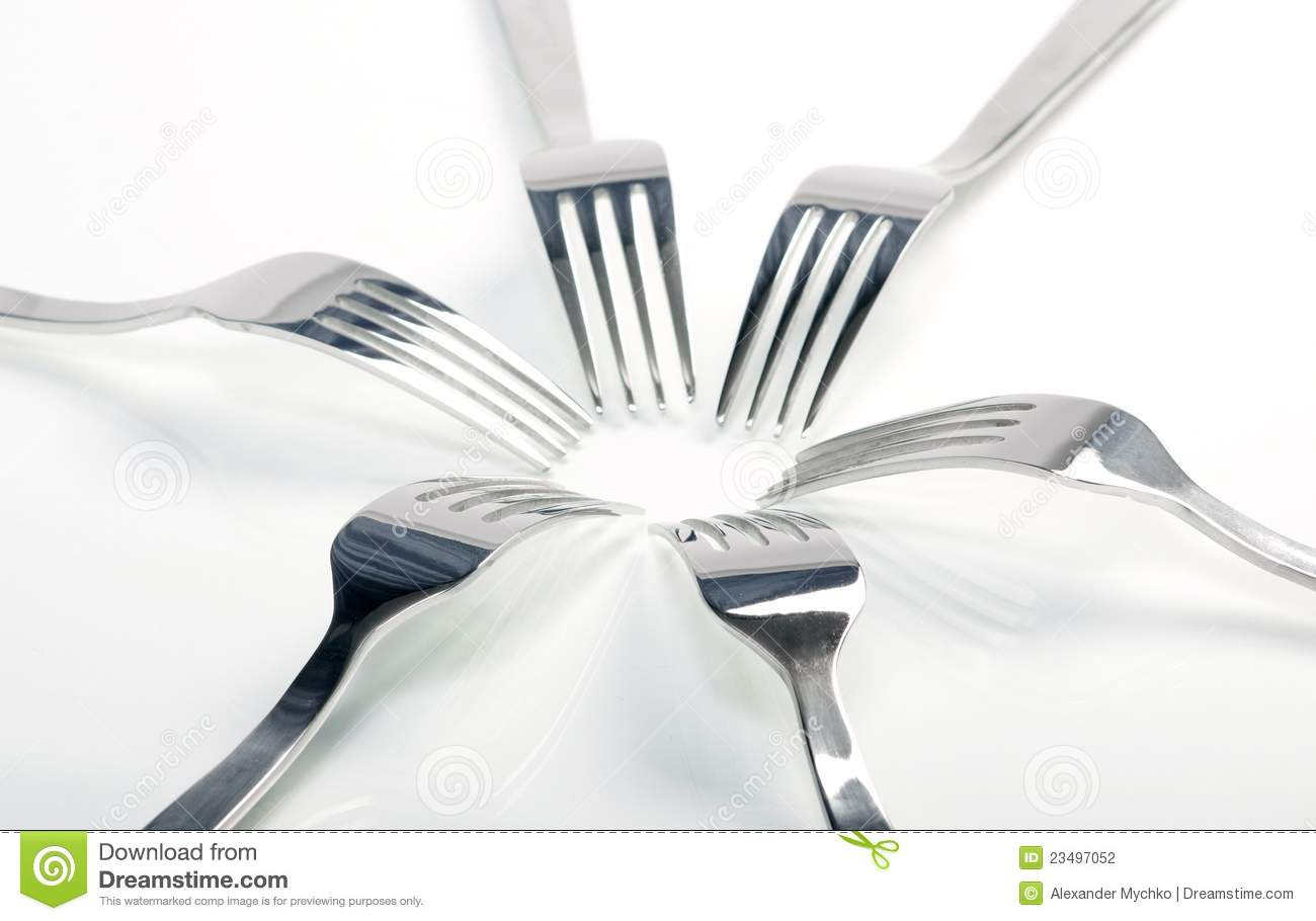Food Abstract Background Abstract Fork Background as a