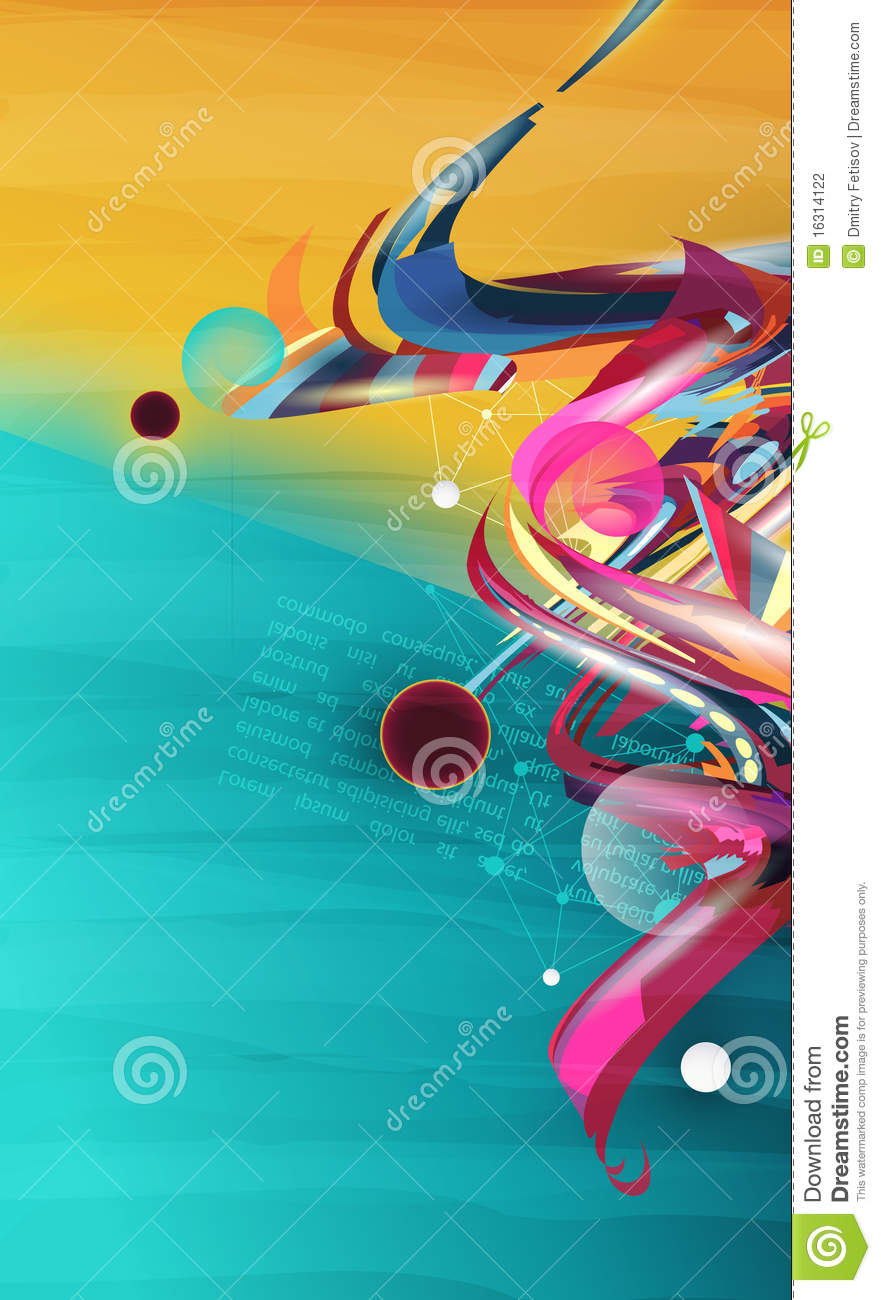 Abstract form, design elements